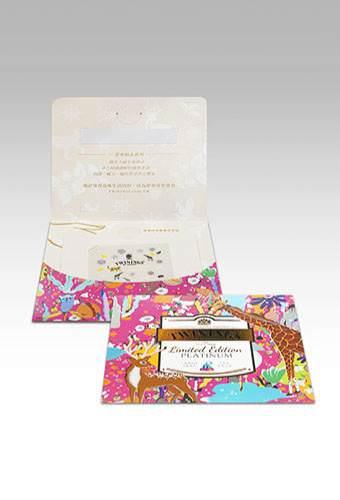唐寧茶-鉑金系列茶包&美甲貼包裝